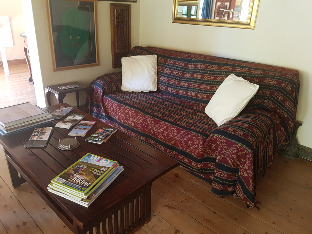 Steytlerville Guest House and accommodation lounge area